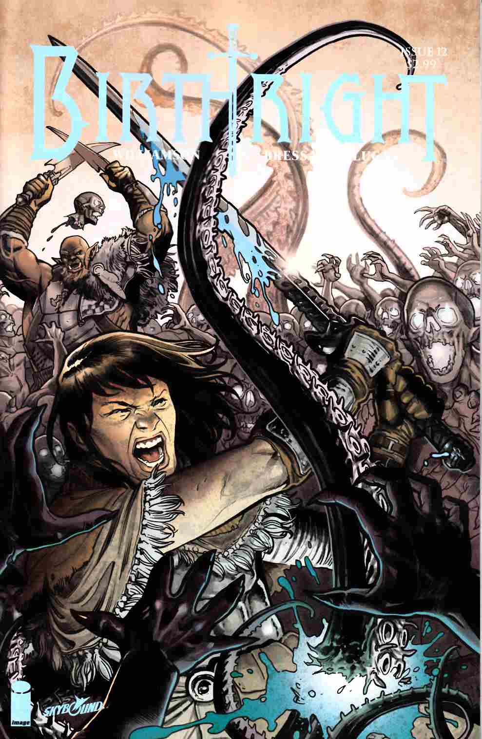 Birthright #12 Cover B- Dewey [Image Comic] THUMBNAIL