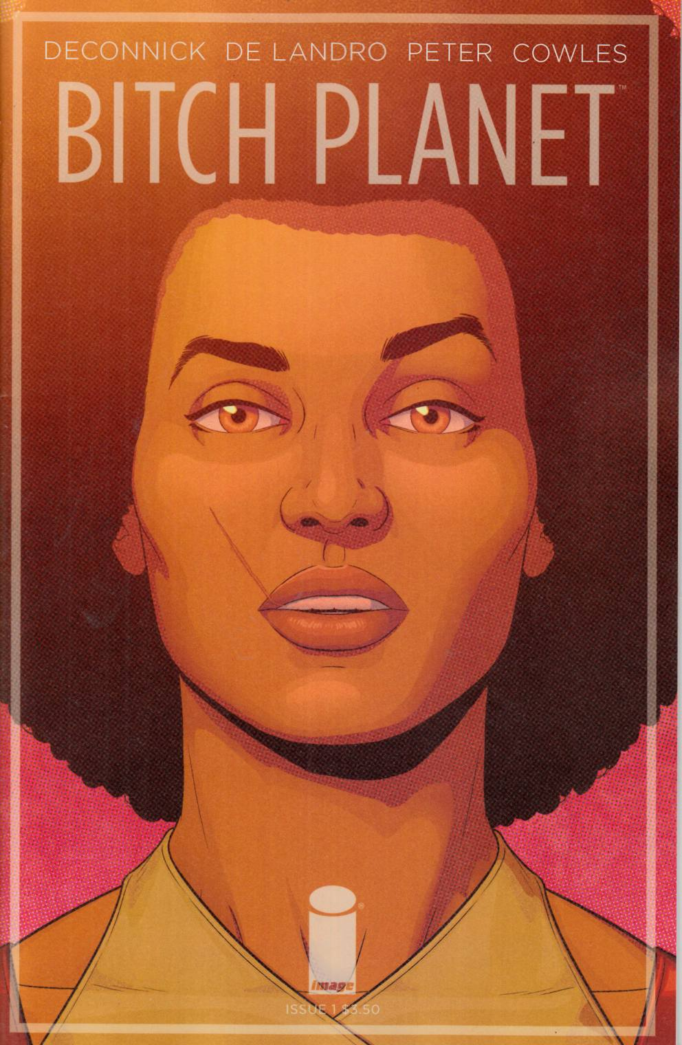 Bitch Planet #1 Cover B- McKelvie [Image Comic]_LARGE