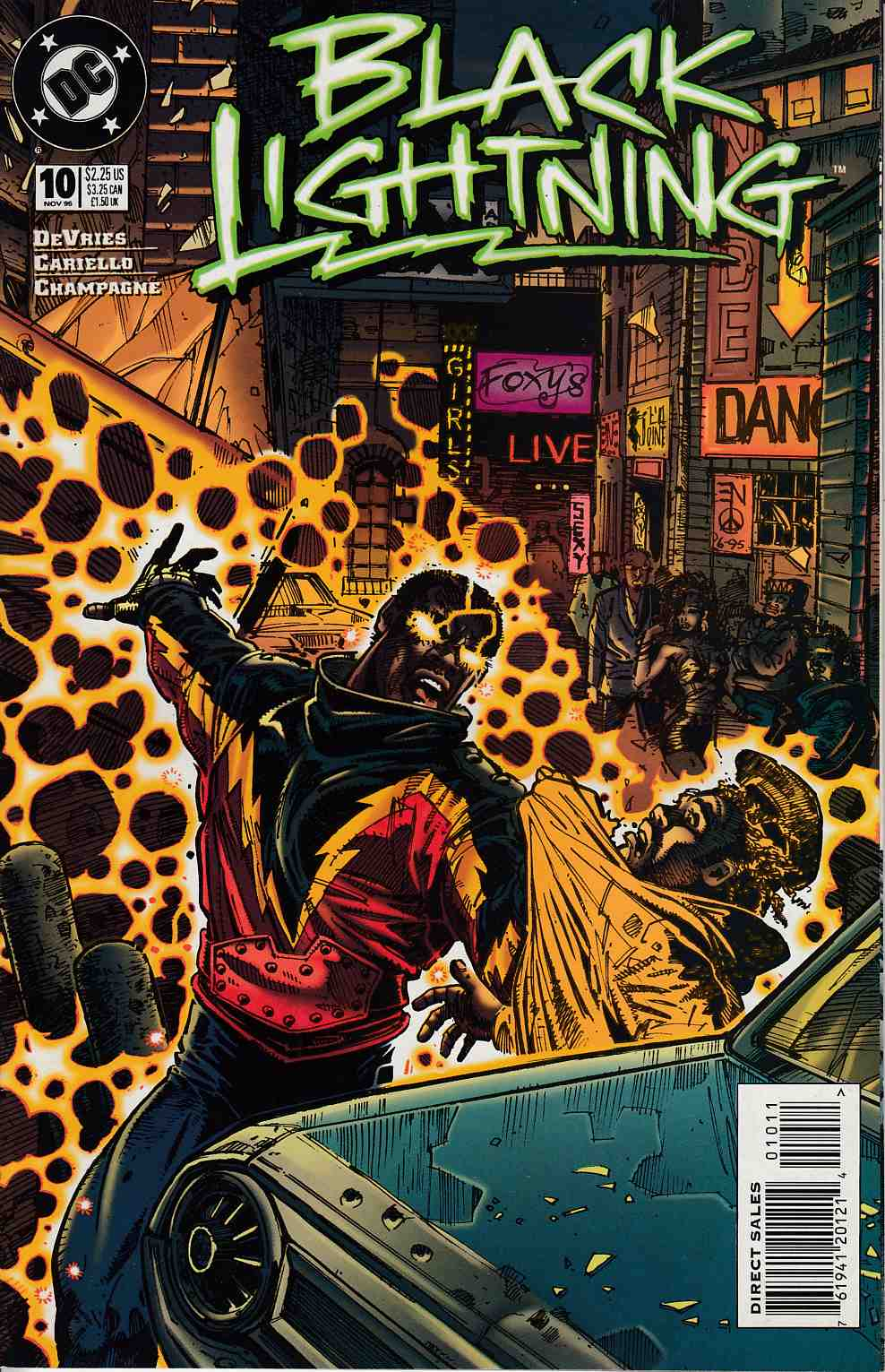 Black Lightning #10 Very Fine (8.0) [DC Comic] THUMBNAIL
