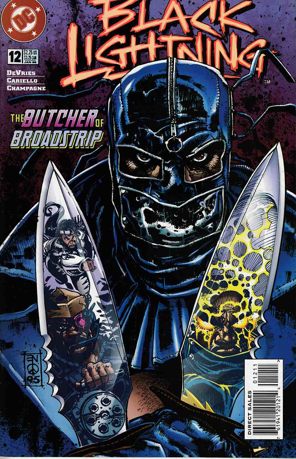 Black Lightning #12 Near Mint (9.4) [DC Comic] THUMBNAIL