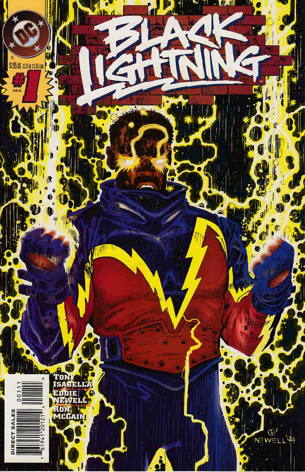 Black Lightning #1 Near Mint (9.4) [DC Comic] THUMBNAIL
