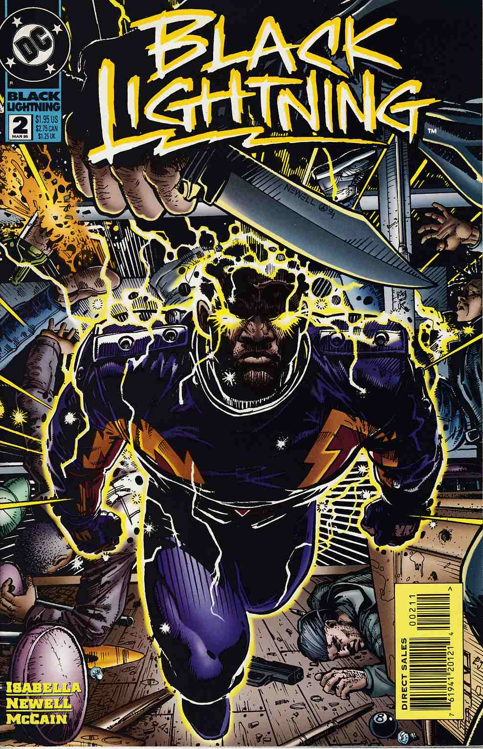 Black Lightning #2 Very Fine (8.0) [DC Comic] THUMBNAIL