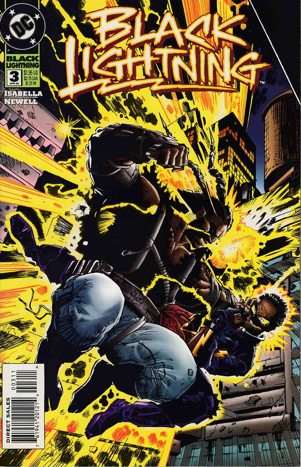 Black Lightning #3 Near Mint (9.4) [DC Comic] THUMBNAIL