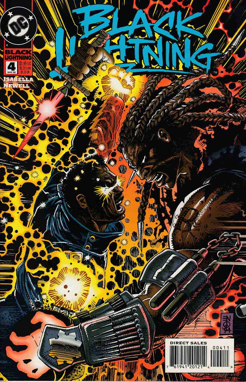 Black Lightning #4 Near Mint (9.4) [DC Comic] THUMBNAIL