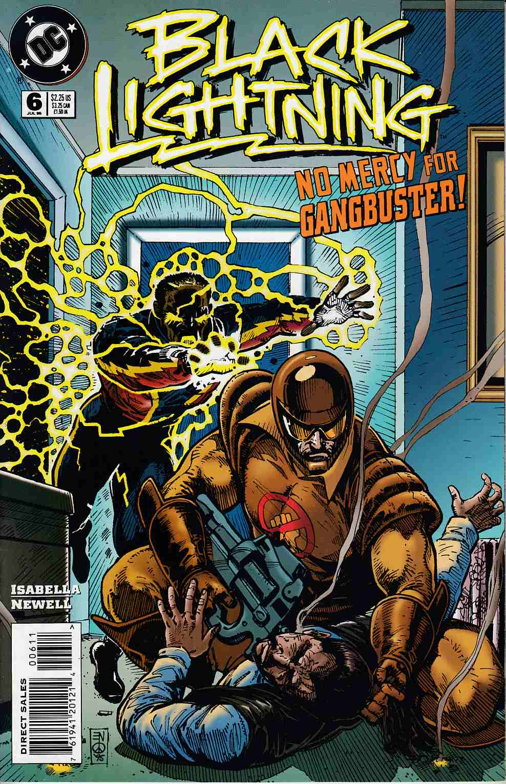 Black Lightning #6 Near Mint (9.4) [DC Comic] THUMBNAIL