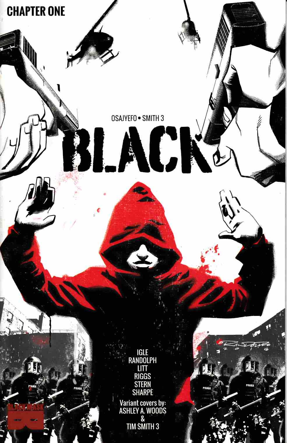Black #1 Cover A Near Mint (9.4) [Black Mask Comic] THUMBNAIL