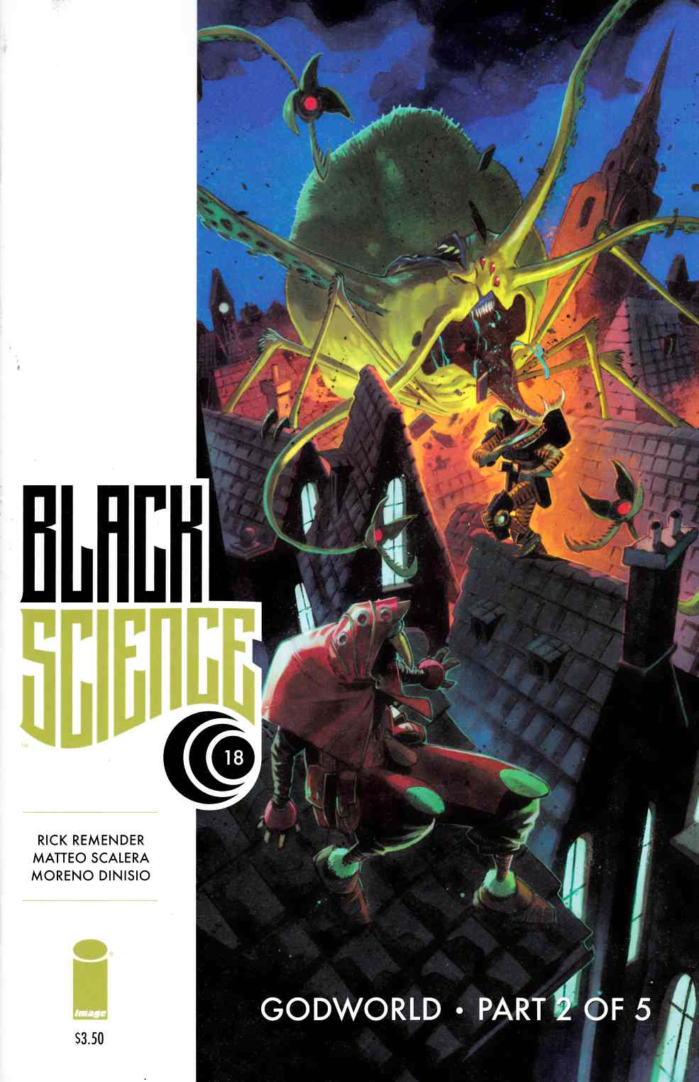 Black Science #18 [Image Comic] LARGE