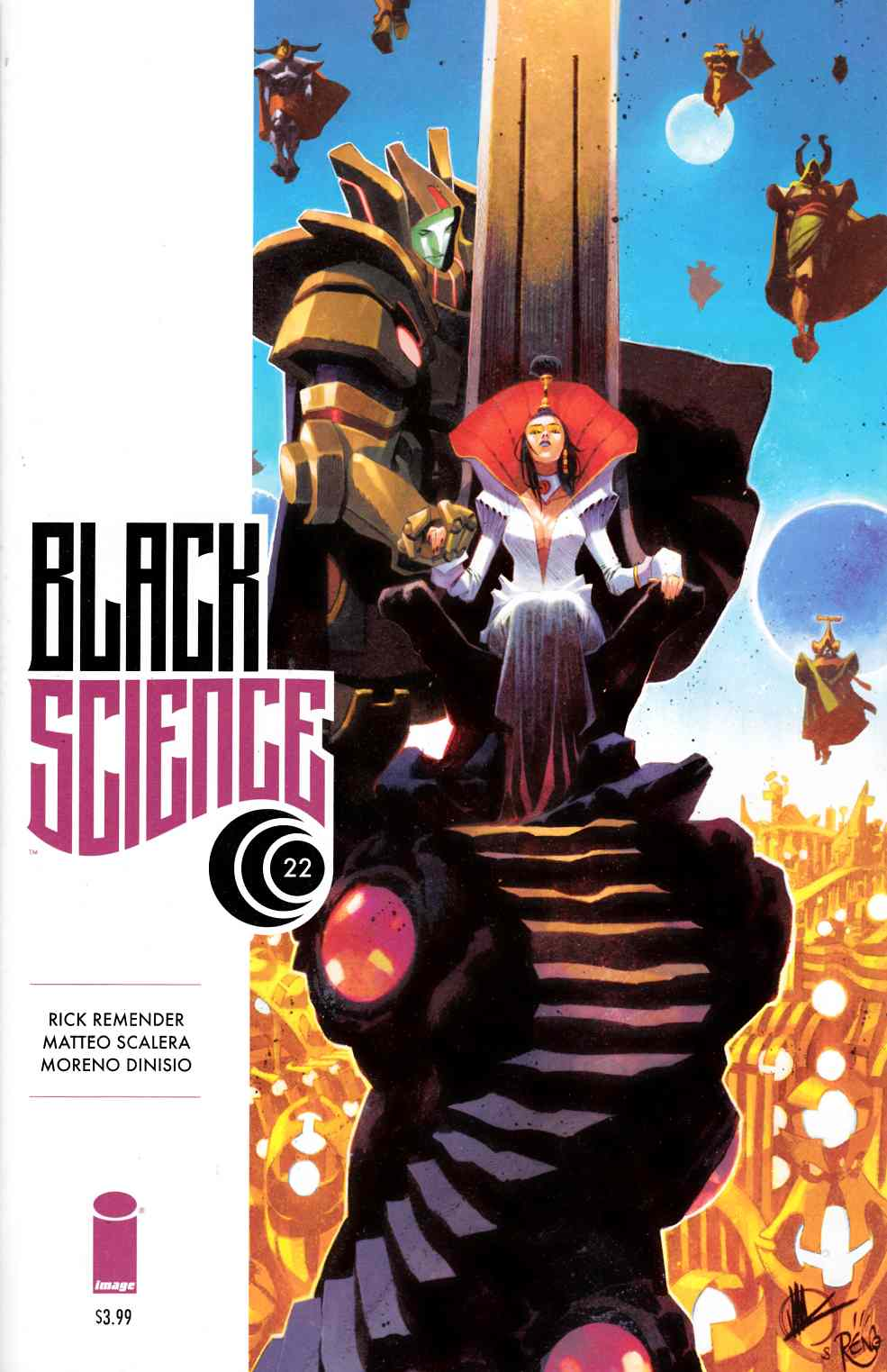 Black Science #22 [Image Comic]