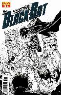 Black Bat #1 Syaf B&W Incentive Cover [Comic] THUMBNAIL