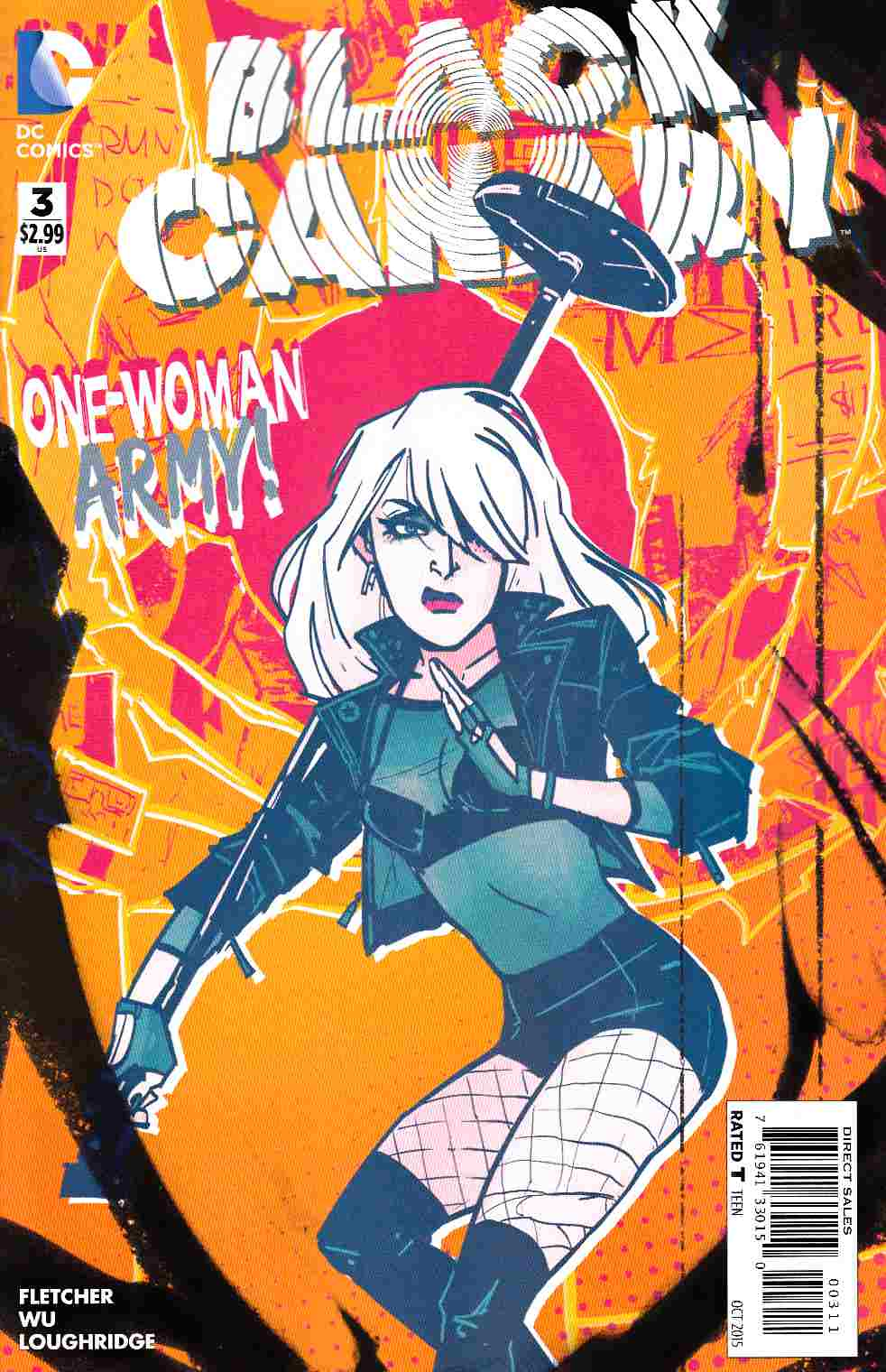 Black Canary #3 [DC Comic] LARGE