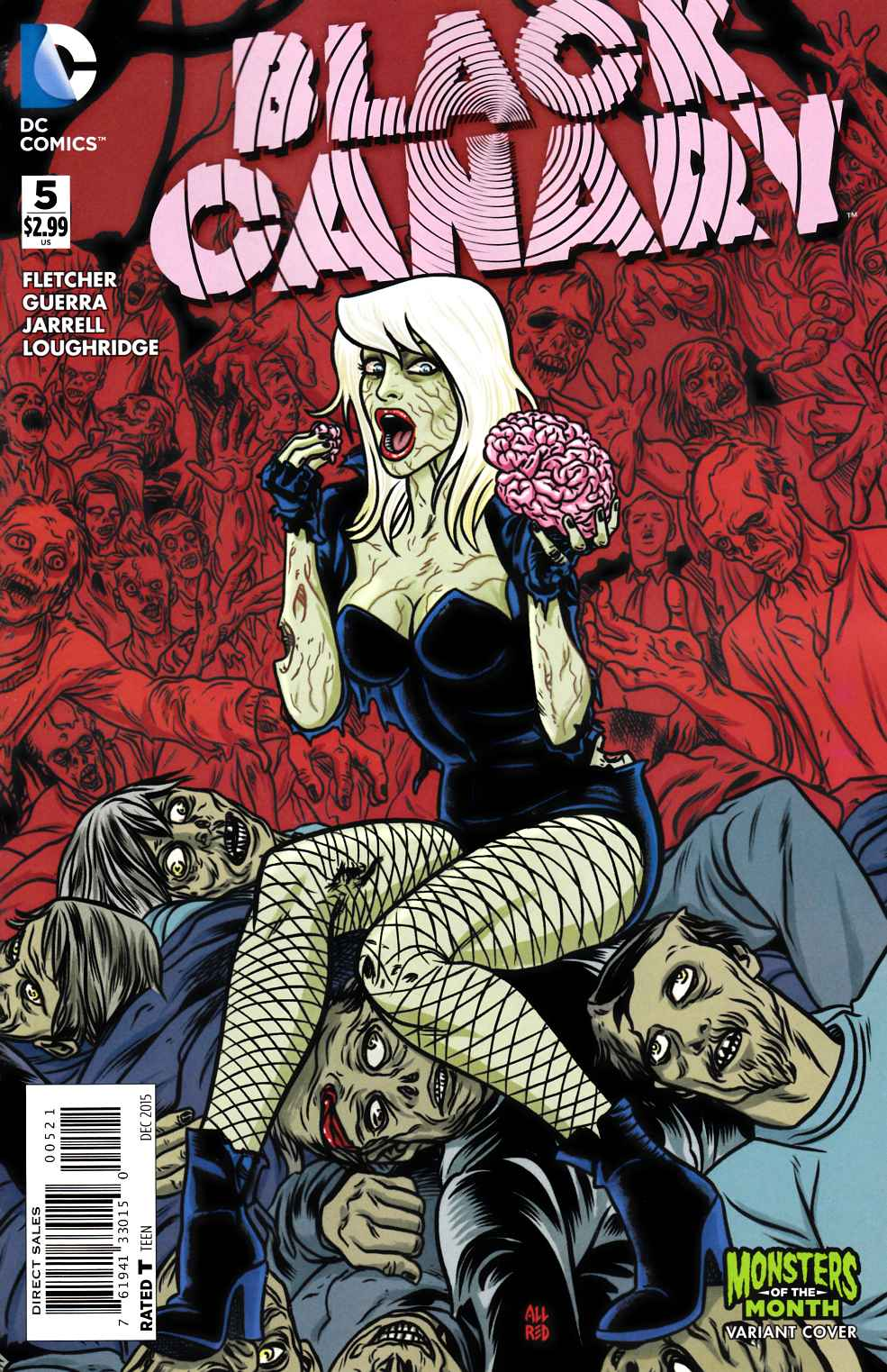 Black Canary #5 Monsters Variant Cover [DC Comic] LARGE