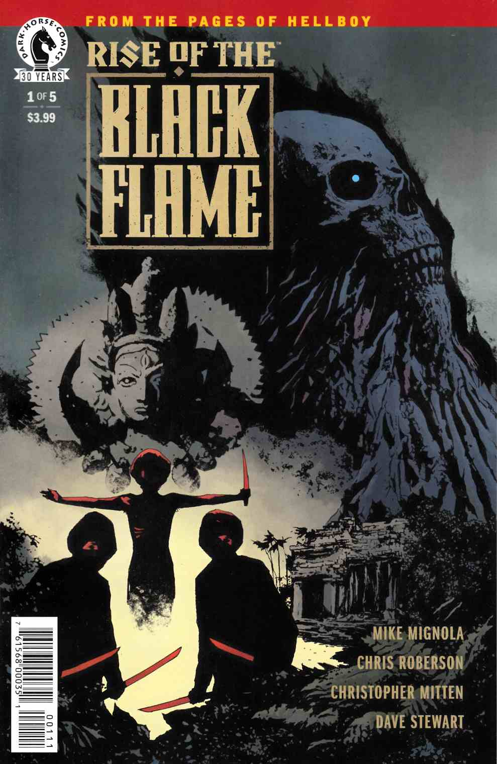 Rise of the Black Flame #1 [Dark Horse Comic] THUMBNAIL