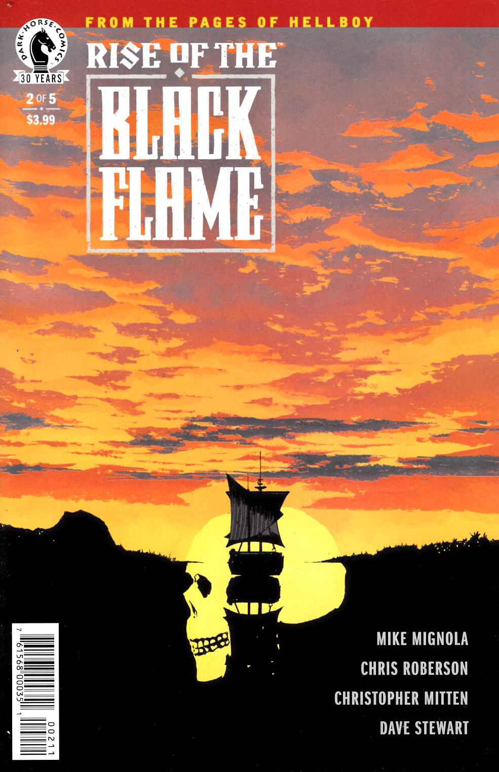Rise of the Black Flame #2 [Dark Horse Comic] LARGE