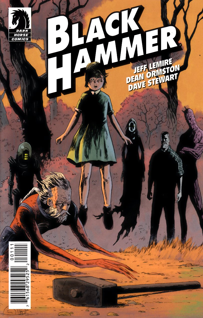 Black Hammer Ashcan (One Shot) Near Mint (9.4) [Dark Horse Comic] THUMBNAIL