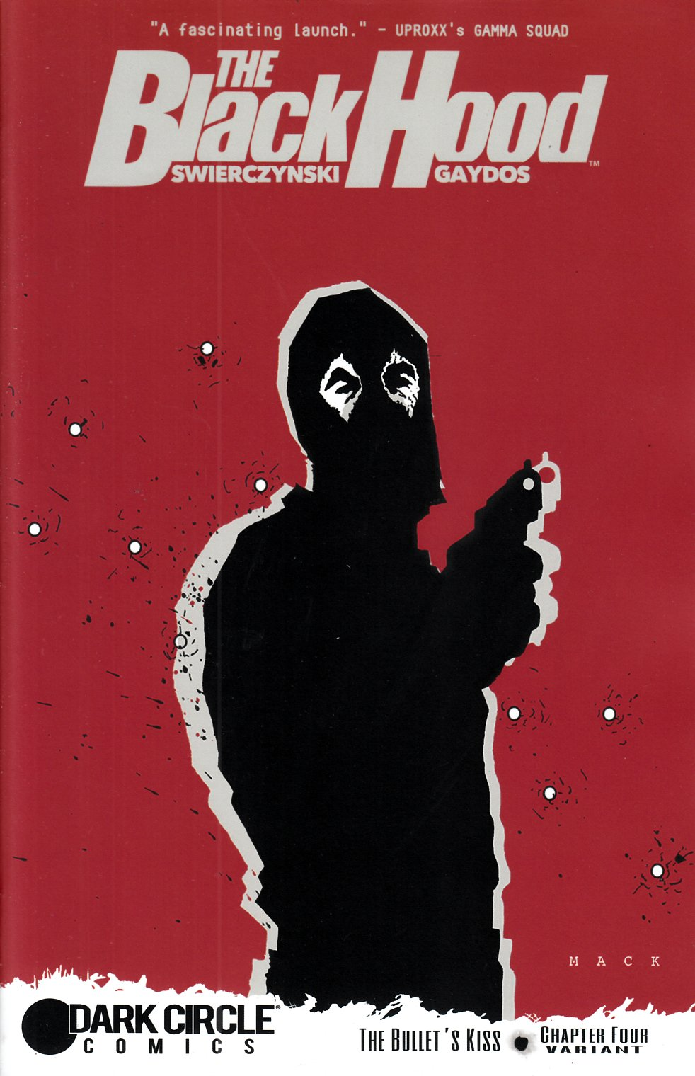 Black Hood #4 Mack Cover [Archie Comic] THUMBNAIL