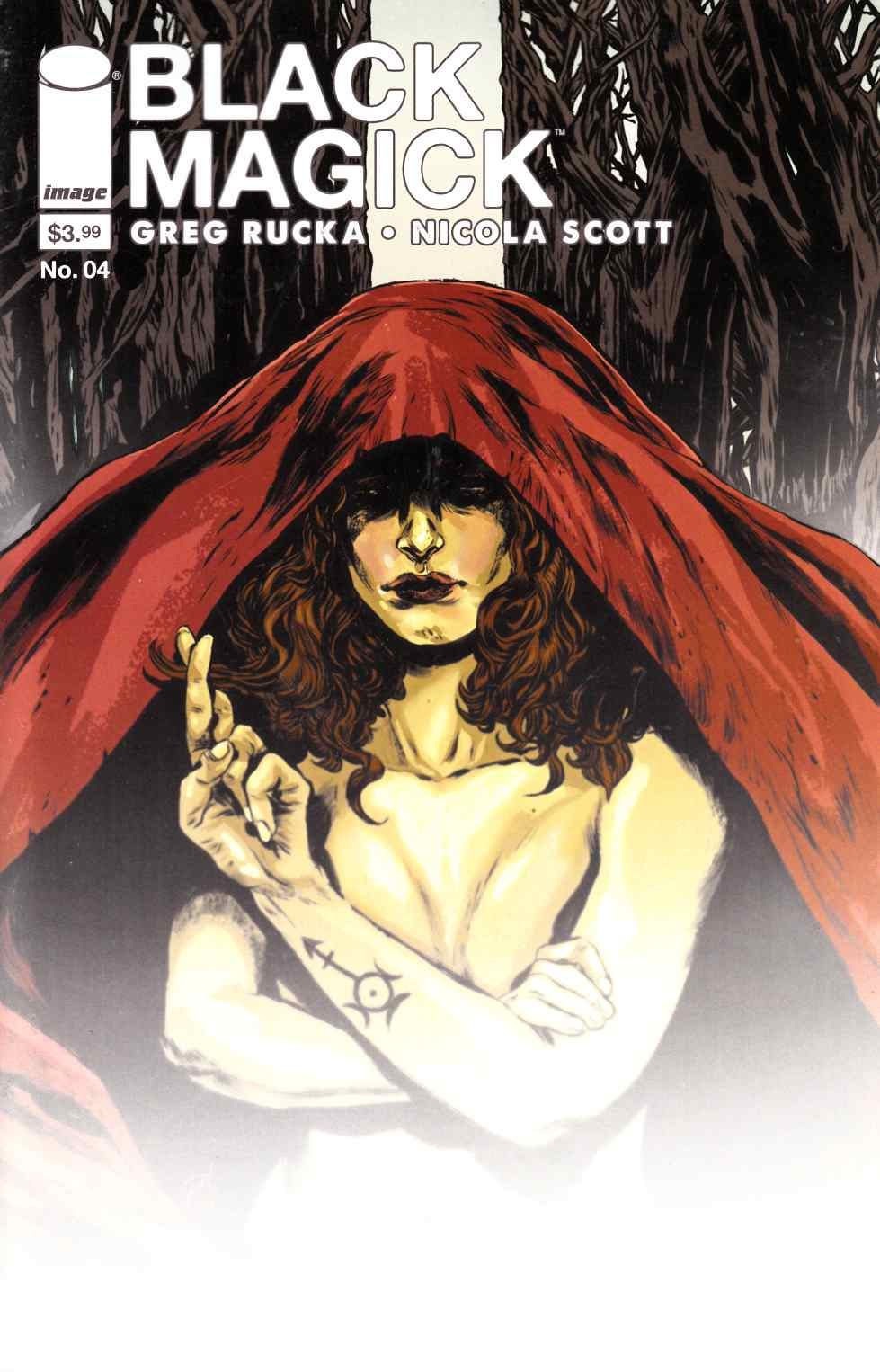 Black Magick #4 Cover B- Doyle [Image Comic] LARGE