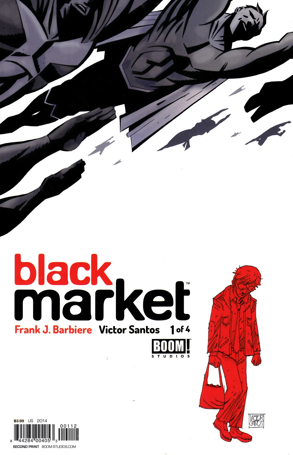 Black Market #1 Second Printing [BOOM Comic] LARGE