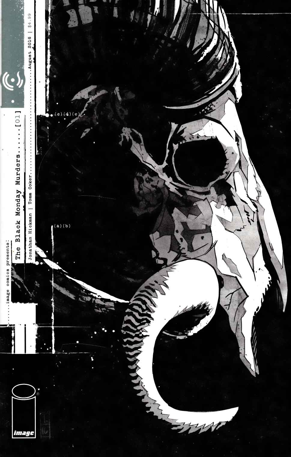 Black Monday Murders #1 [Image Comic] THUMBNAIL