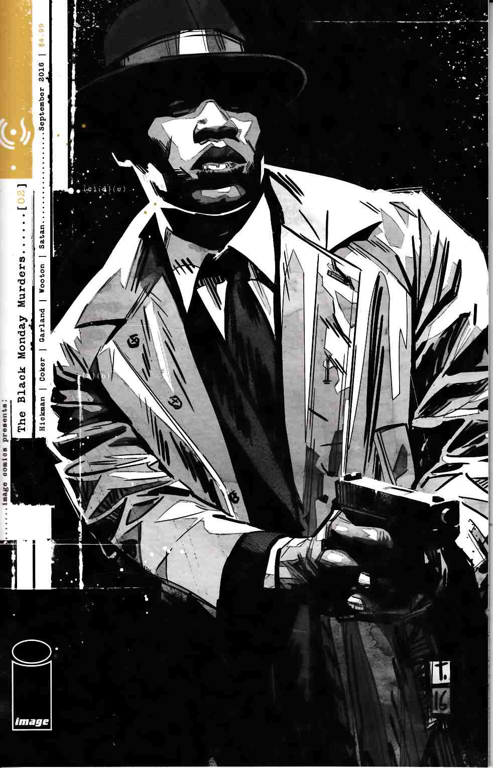 Black Monday Murders #2 [Image Comic] LARGE