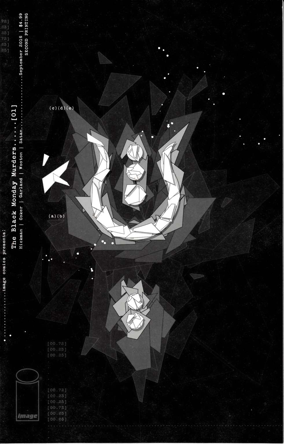 Black Monday Murders #1 Second Printing [Image Comic] THUMBNAIL