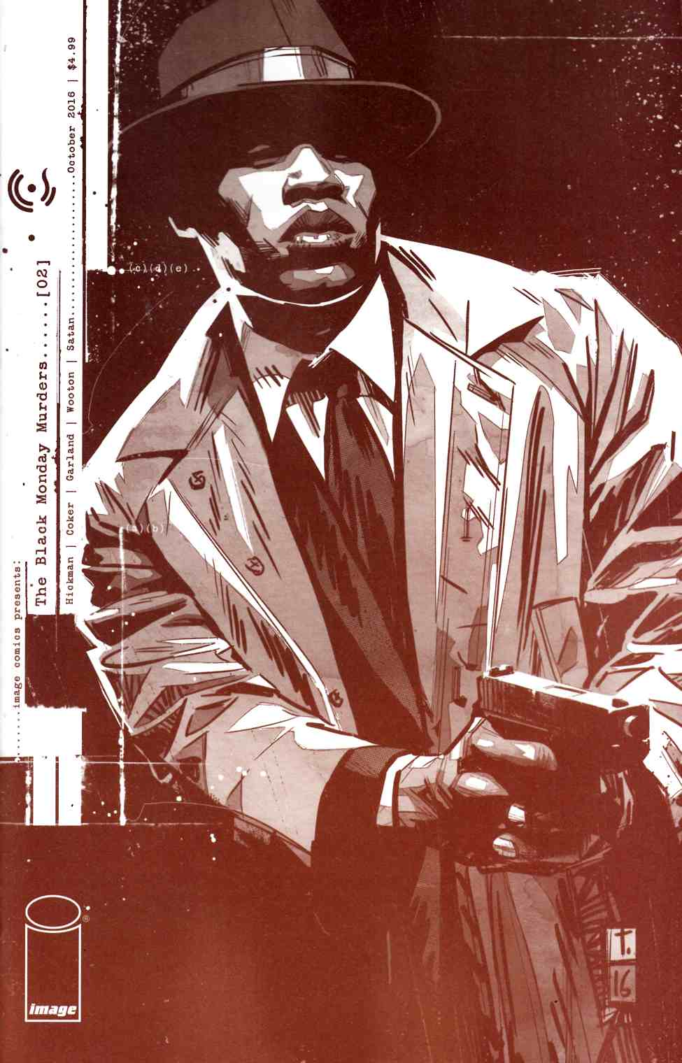 Black Monday Murders #2 Second Printing [Image Comic] THUMBNAIL