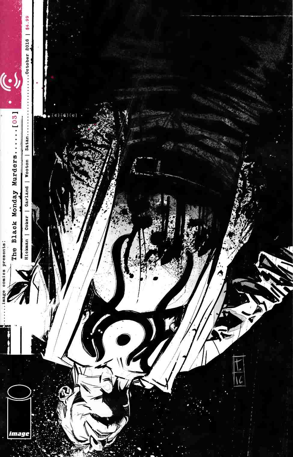 Black Monday Murders #3 [Image Comic] LARGE