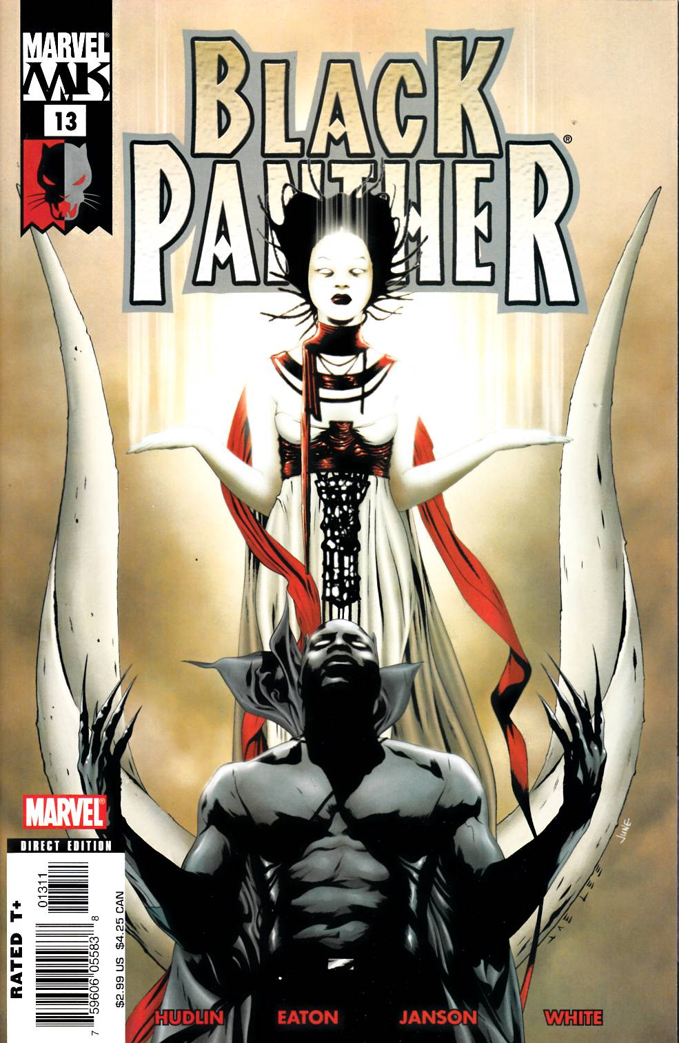 Black Panther #13 Fine (6.0) [Marvel Comic] LARGE