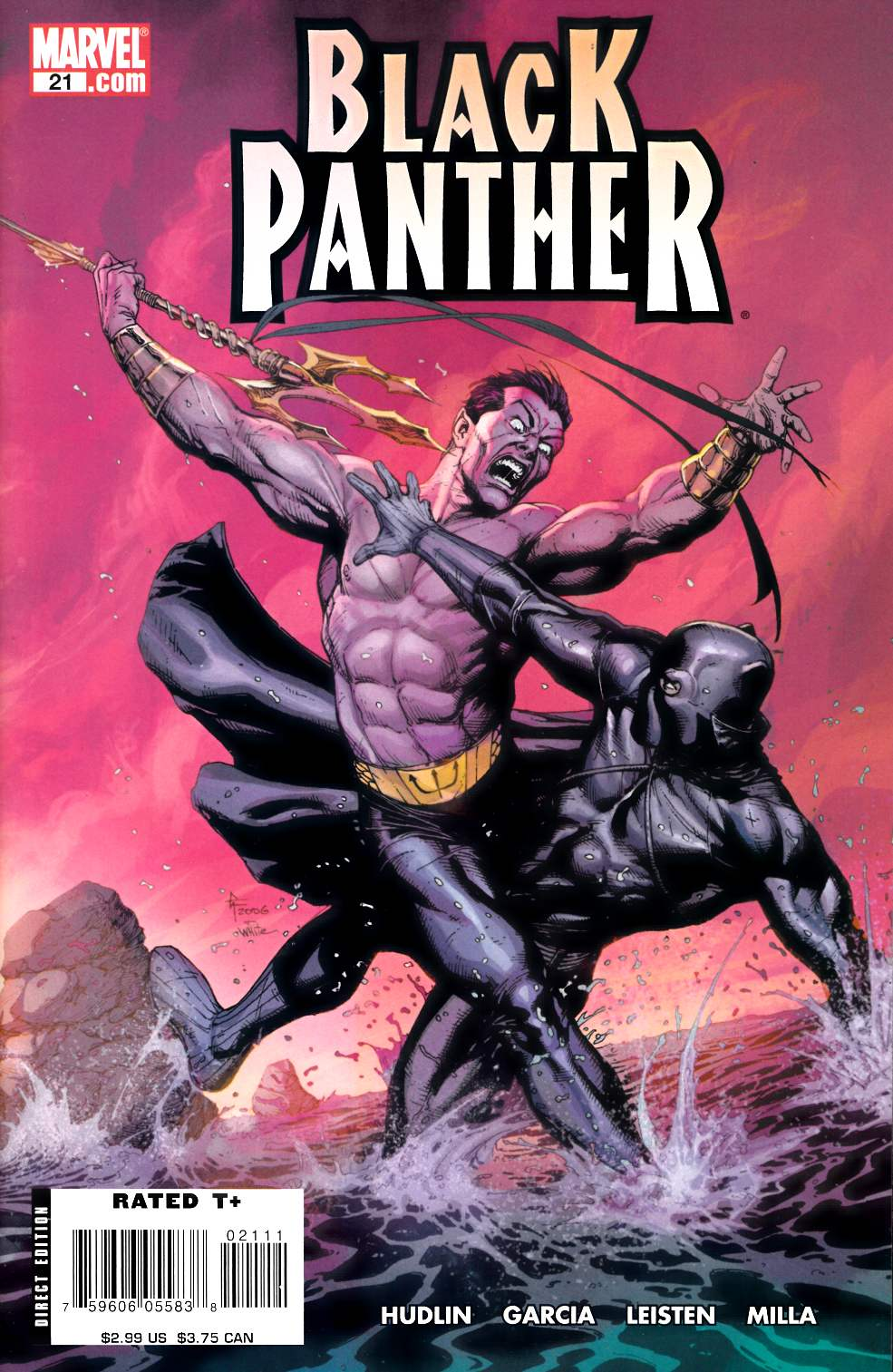 Black Panther #21 Very Fine (8.0) [Marvel Comic] LARGE