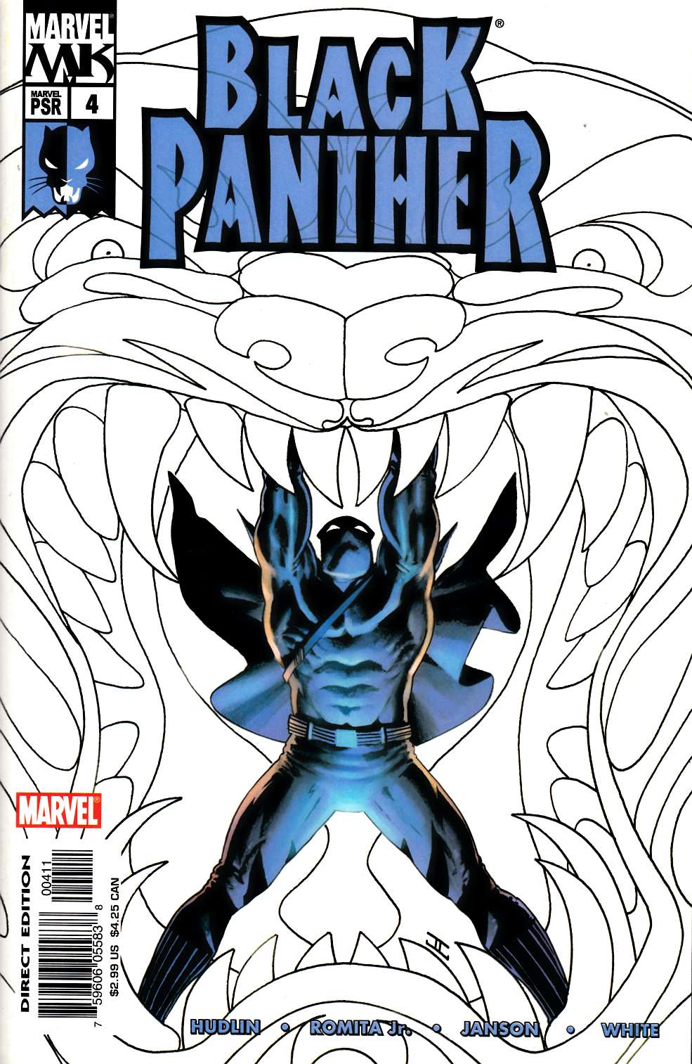 Black Panther #4 Very Good (4.0) [Marvel Comic] THUMBNAIL