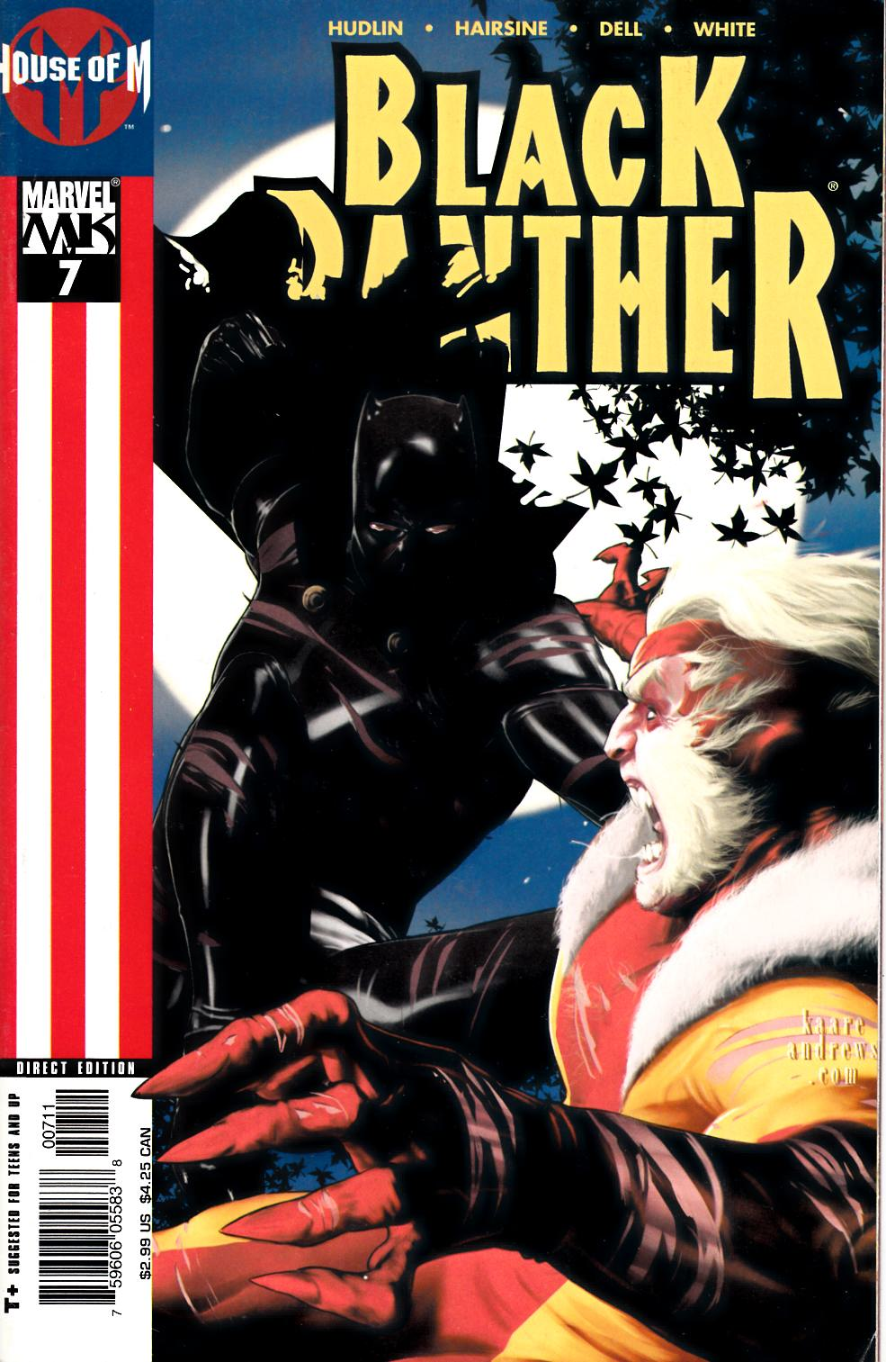 Black Panther #7 Very Good (4.0) [Marvel Comic] THUMBNAIL