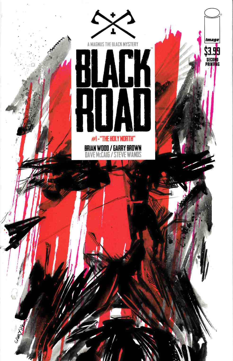 Black Road #1 Second Printing [Image Comic] THUMBNAIL