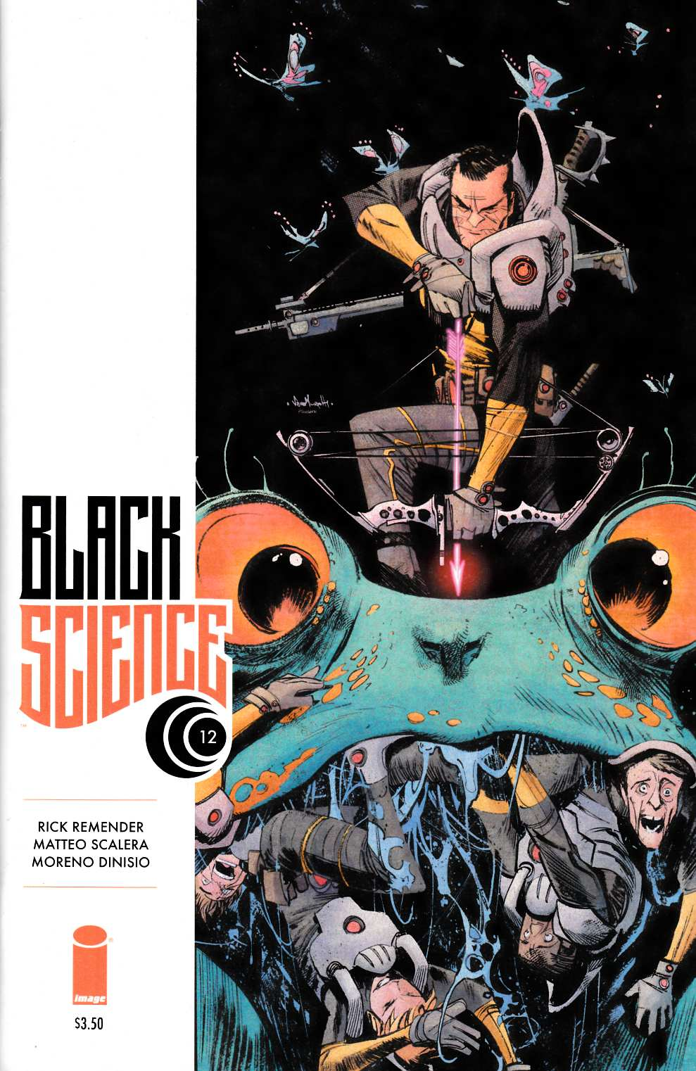 Black Science #12 Cover B- Murphy [Image Comic] THUMBNAIL