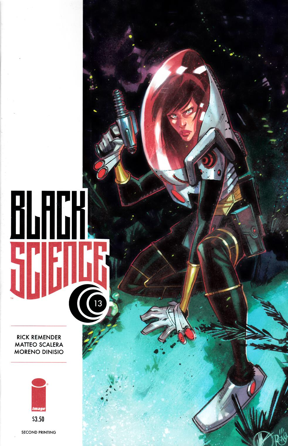 Black Science #13 Second Printing [Image Comic] THUMBNAIL