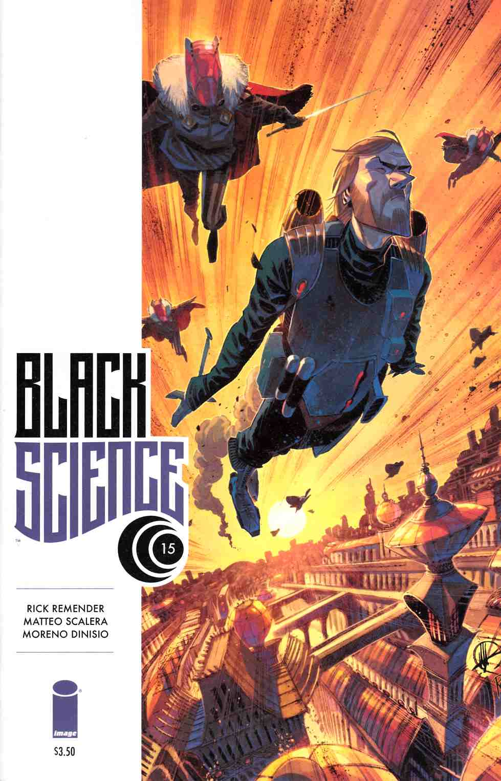 Black Science #15 [Image Comic] LARGE