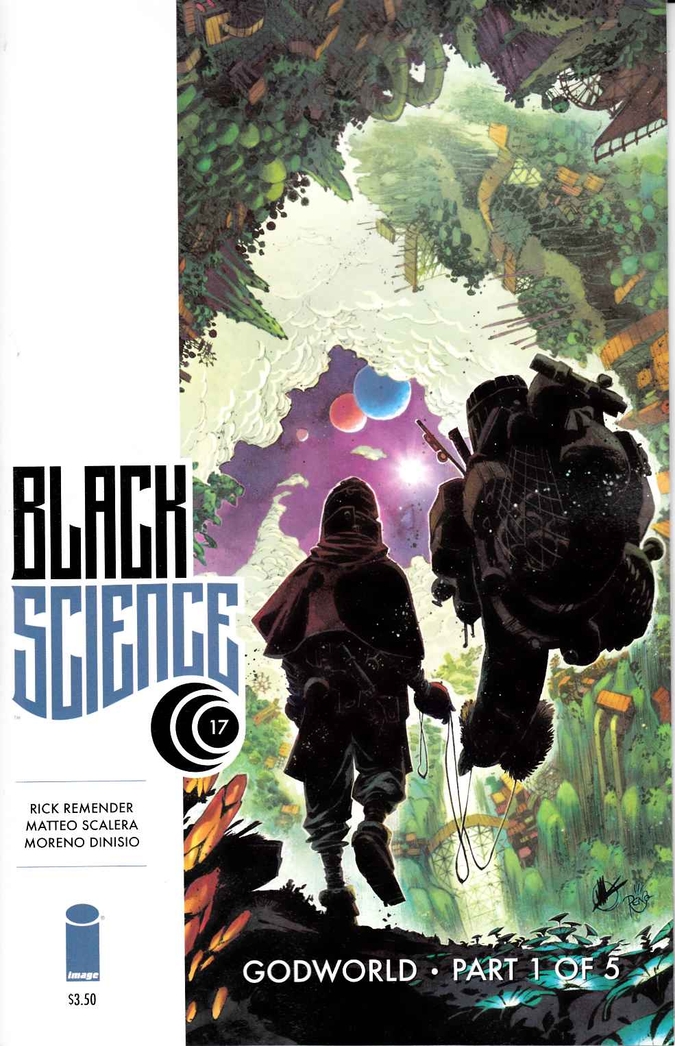 Black Science #17 [Image Comic] THUMBNAIL