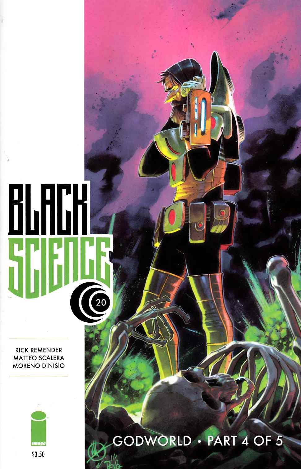 Black Science #20 [Image Comic]