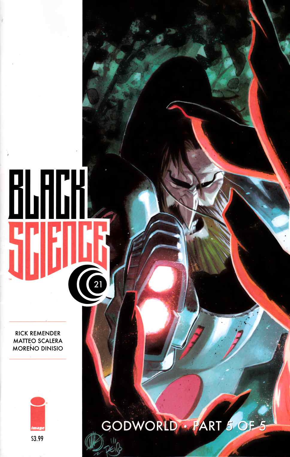 Black Science #21 [Image Comic] LARGE