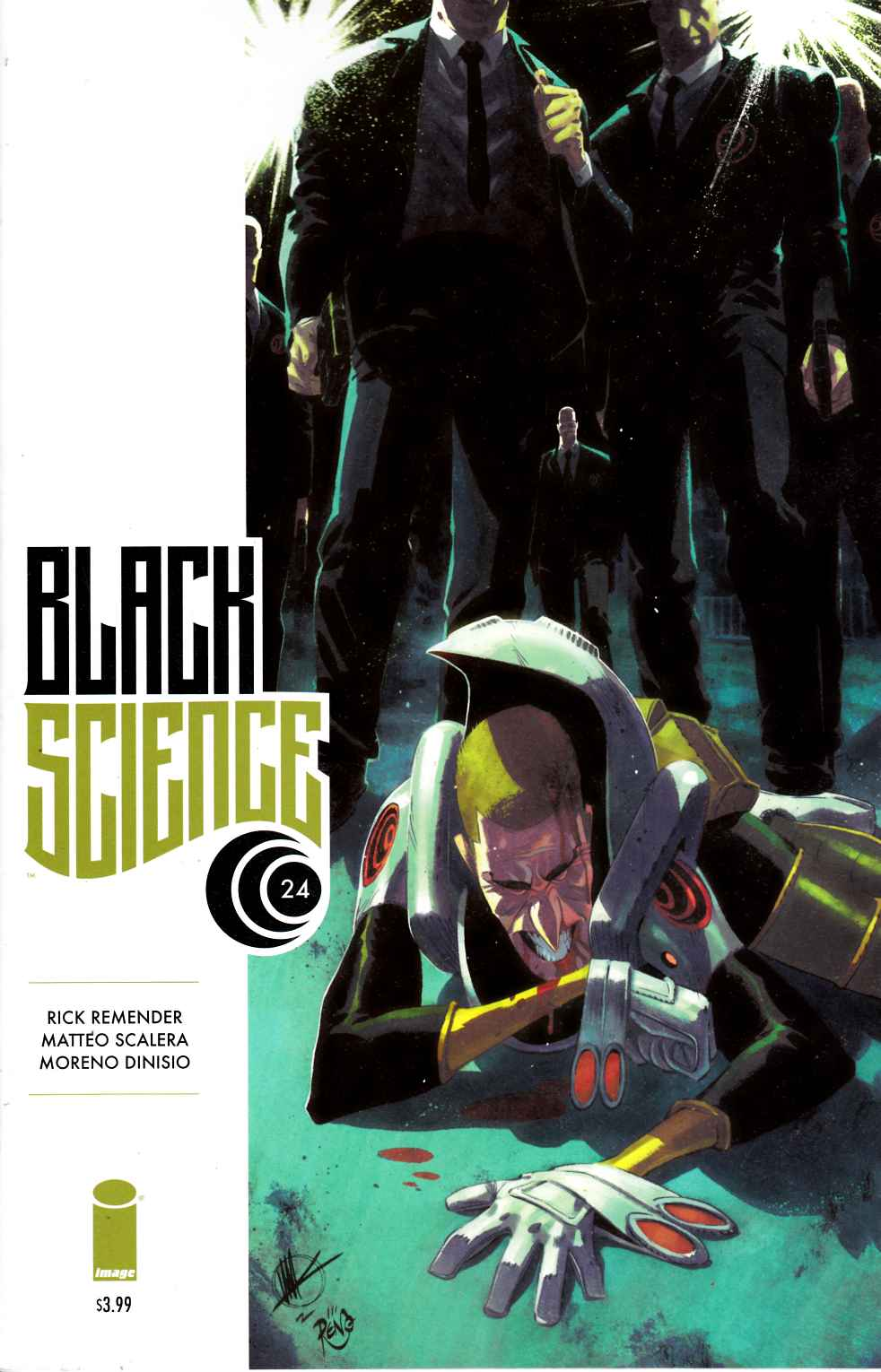 Black Science #24 [Image Comic] LARGE