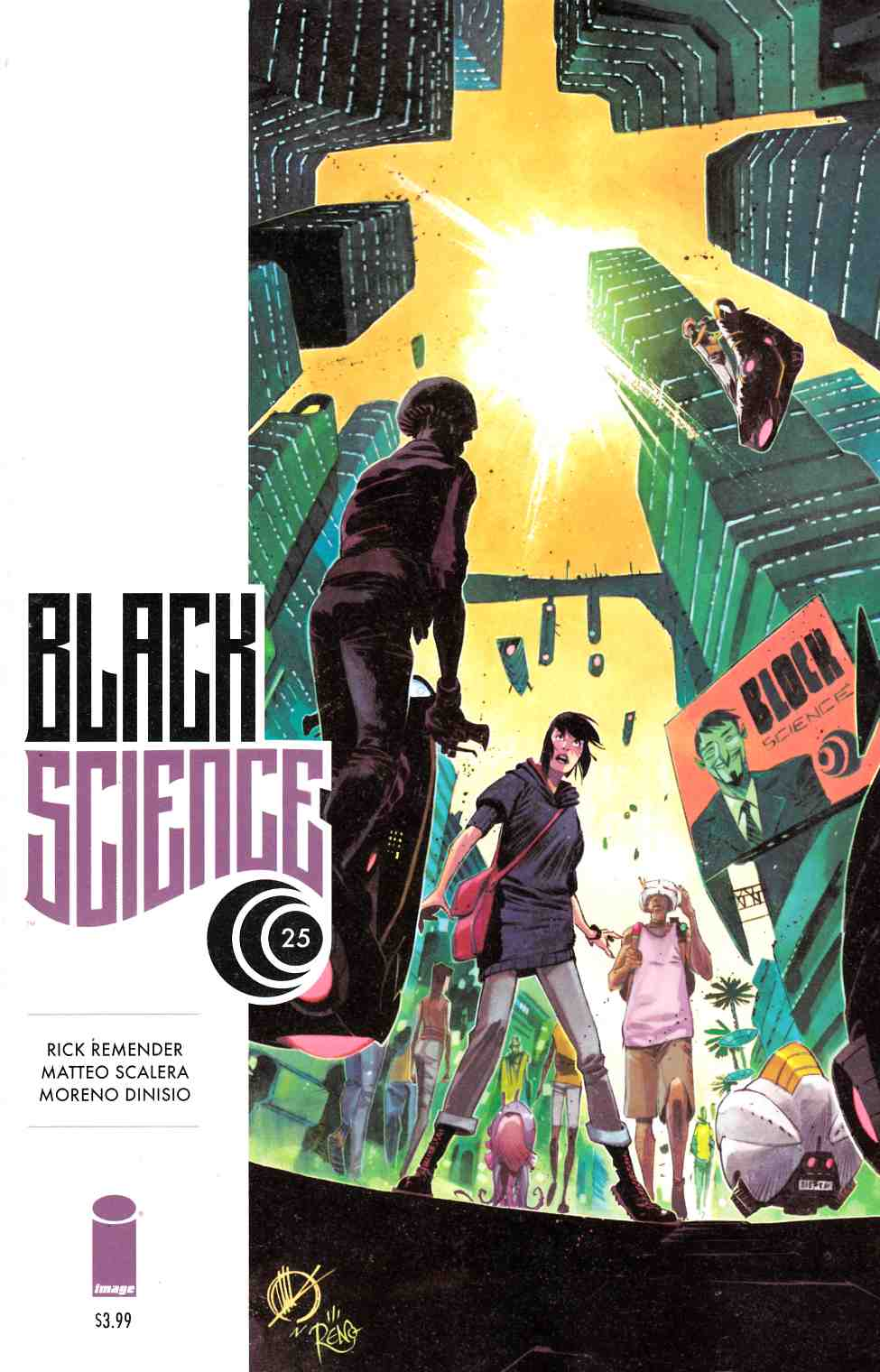 Black Science #25 [Image Comic] LARGE