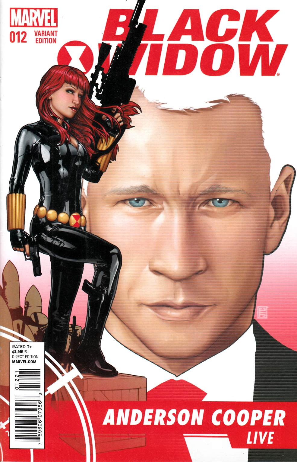Black Widow #12 Christopher Variant Cover [Marvel Comic] THUMBNAIL