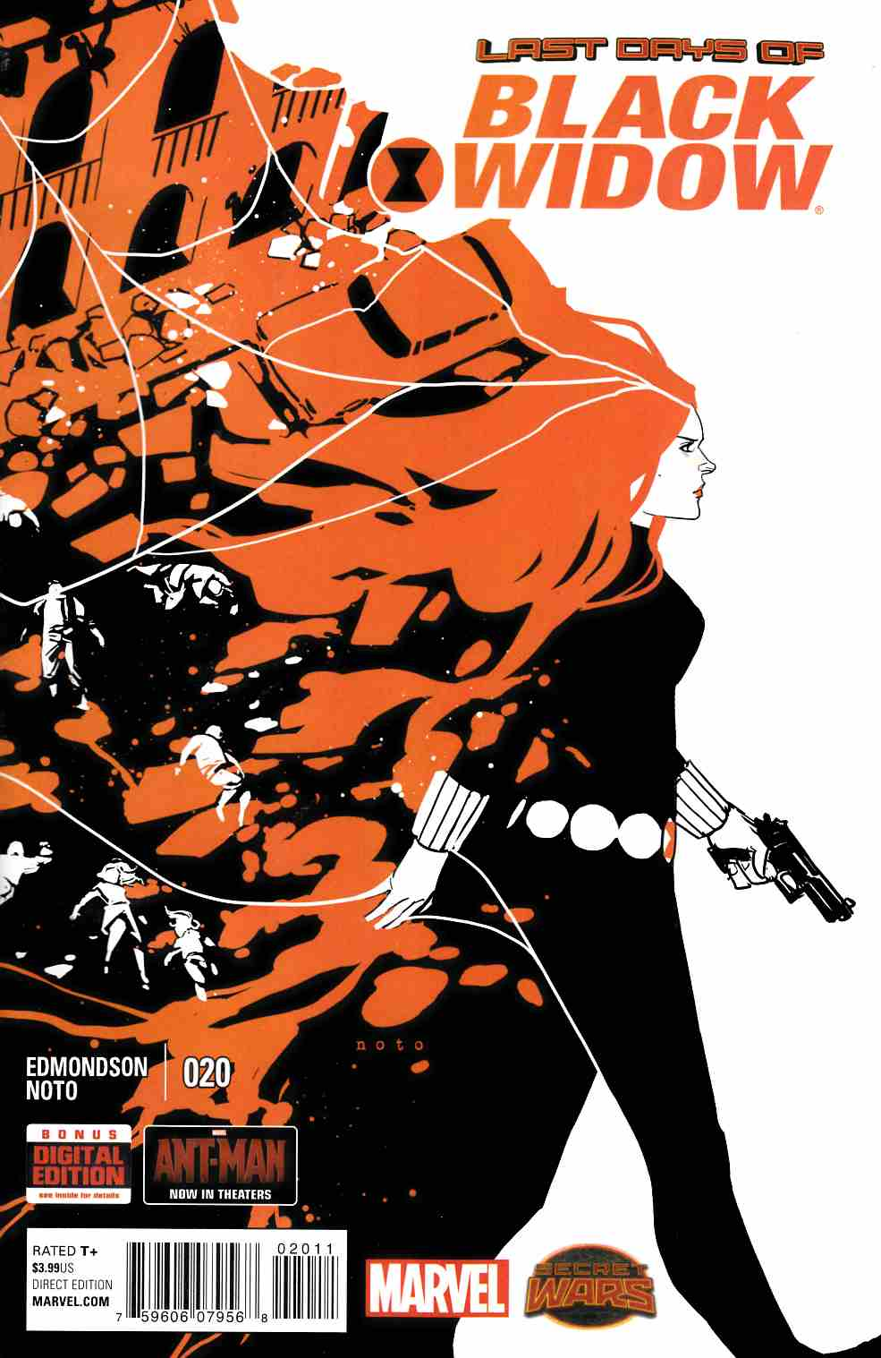 Black Widow #20 [Marvel Comic] THUMBNAIL