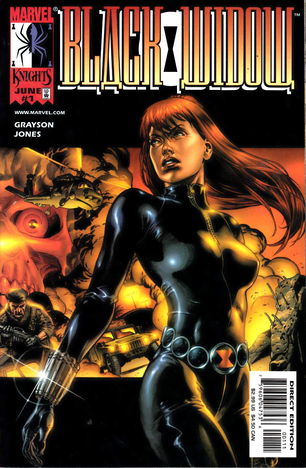 Black Widow #1 Near Mint Minus (9.2) [Marvel Comic] LARGE