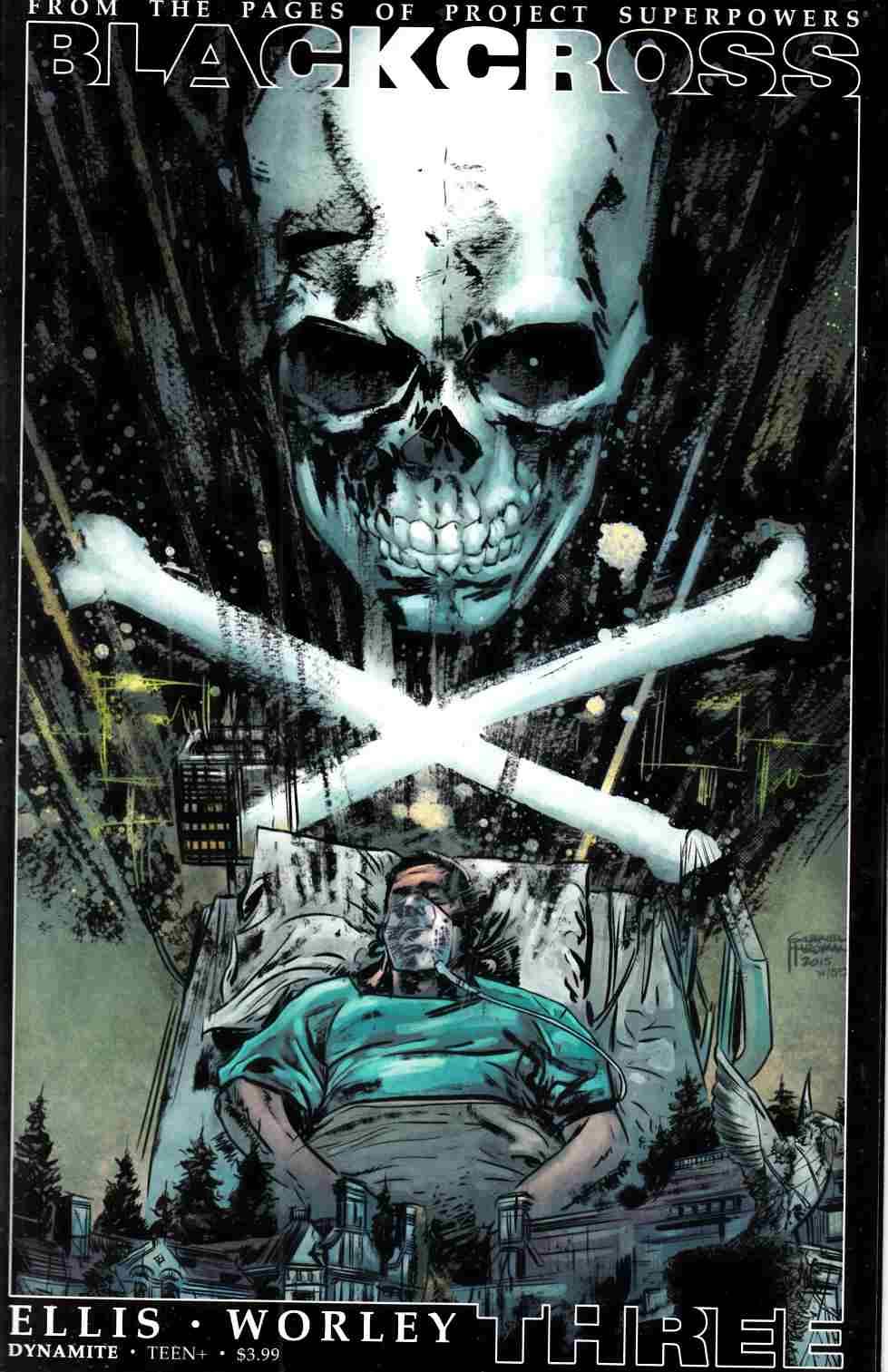 Project Superpowers Blackcross #3 Cover C- Subscription [Dynamite Comic]