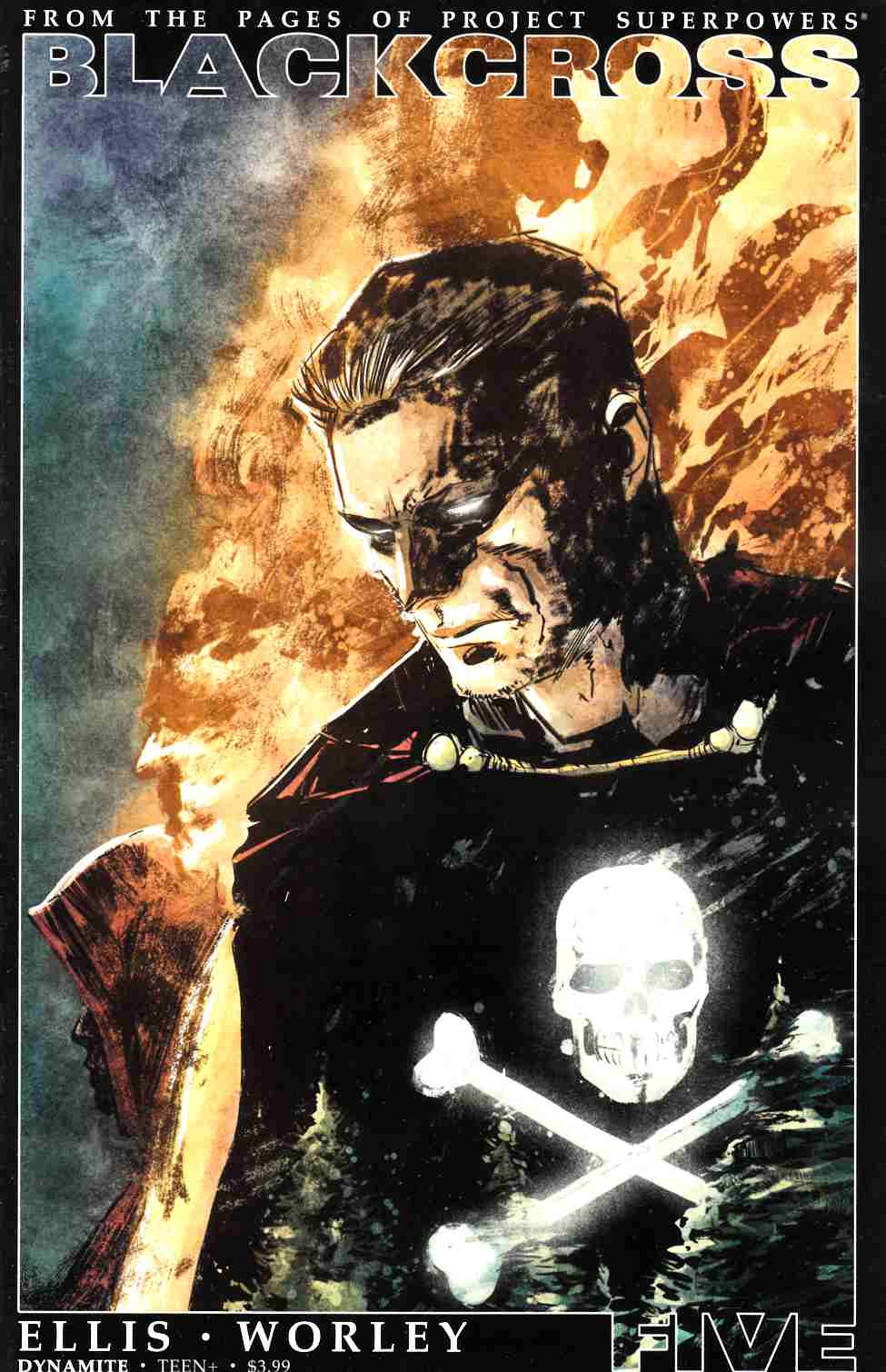 Project Superpowers Blackcross #5 Cover C- Subscription [Dynamite Comic] THUMBNAIL