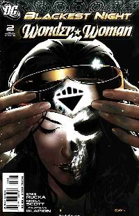 Blackest Night Wonder Woman #2 Sook Variant Cover [DC Comic] LARGE
