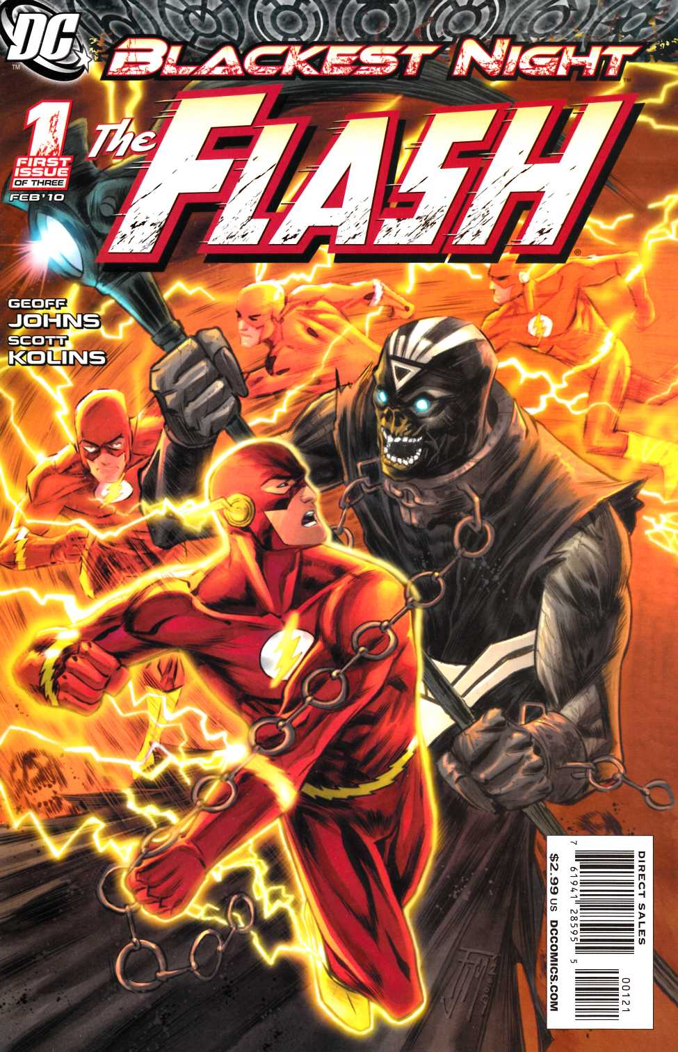 Blackest Night Flash #1 Manapul Variant Cover [DC Comic]_THUMBNAIL
