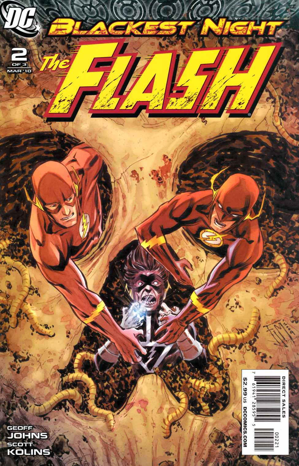 Blackest Night Flash #2 Manapul Variant Cover [DC Comic]_THUMBNAIL