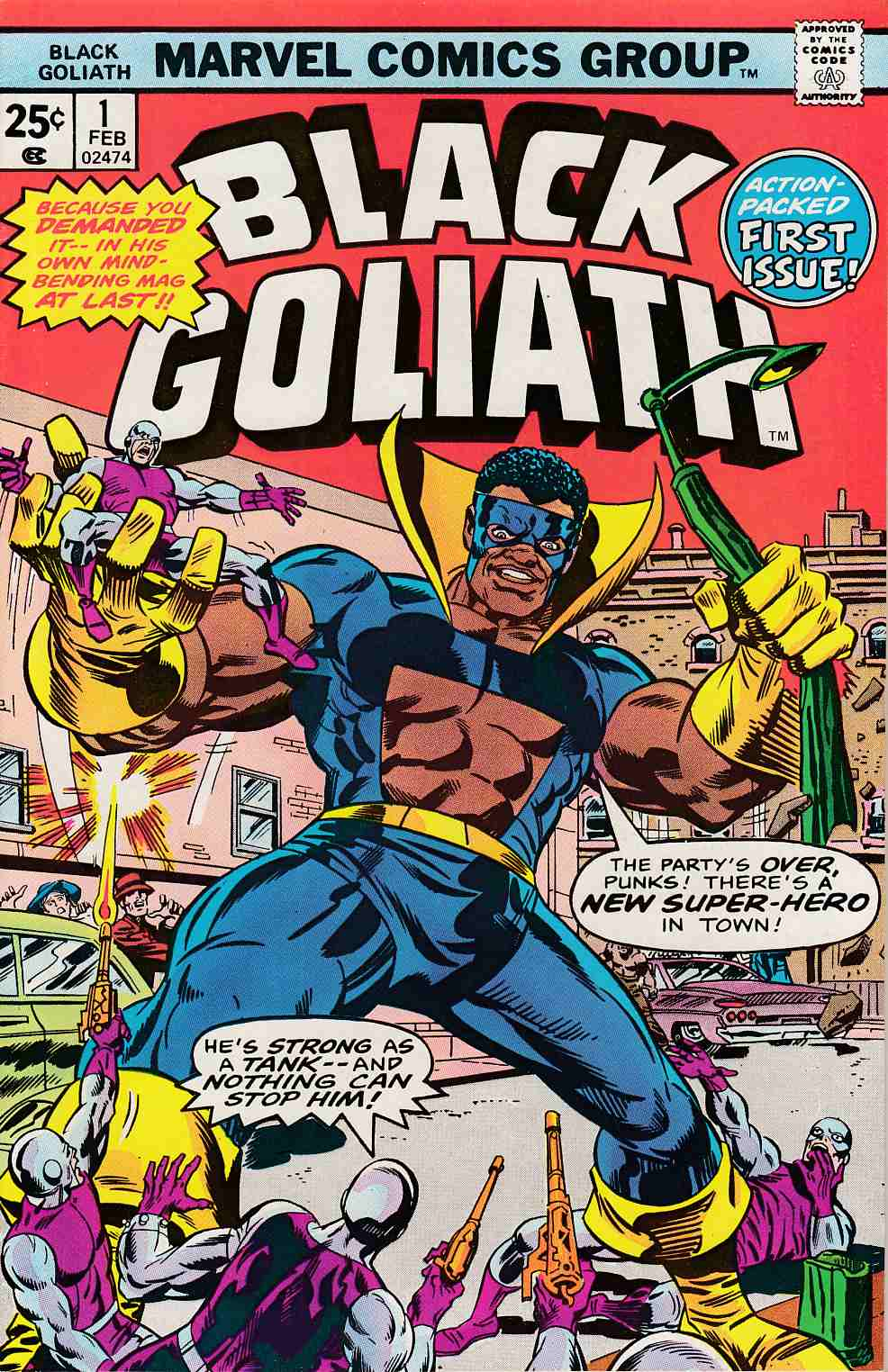 Black Goliath #1 Very Fine/Near Mint (9.0) [Marvel Comic] THUMBNAIL