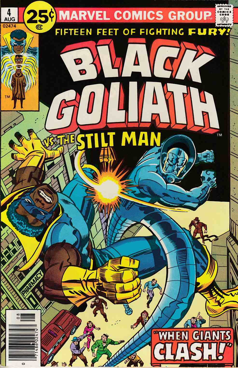 Black Goliath #4 Near Mint Minus (9.4) [Marvel Comic] THUMBNAIL
