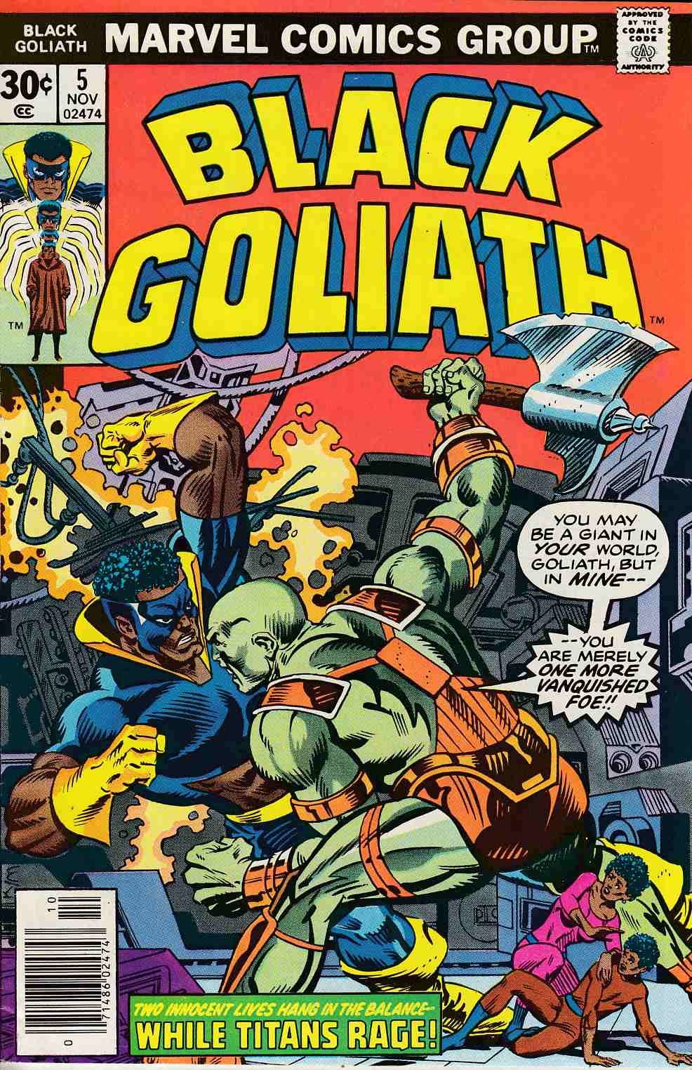 Black Goliath #5 Very Fine (8.0) [Marvel Comic] THUMBNAIL
